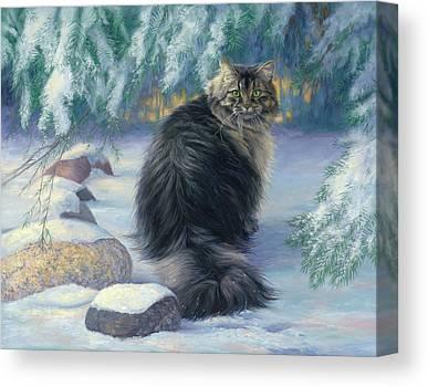 Siberian Cats Canvas Prints