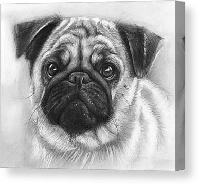 Realistic Drawing Canvas Prints