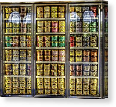 Container Canvas Prints