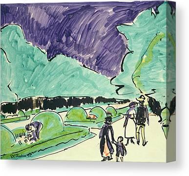 Dresden Germany Canvas Prints