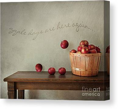 Round Table Canvas Prints