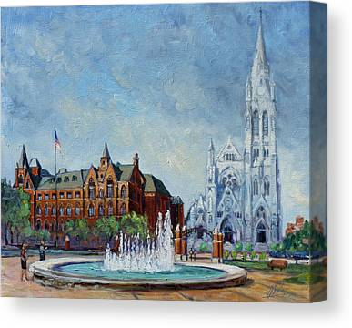 Saint Louis University Canvas Prints