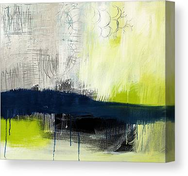 Blue And Green Canvas Prints