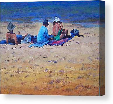 Sunbather Canvas Prints