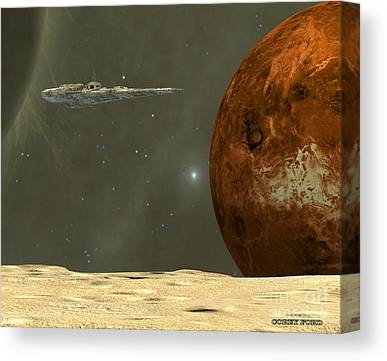 Starcruiser Canvas Prints