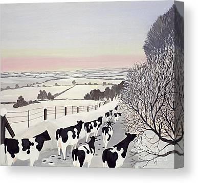 Moo Moo Canvas Prints
