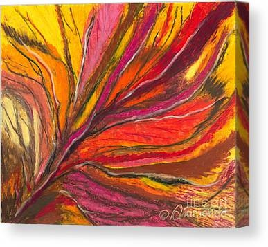 Abstract Ania Canvas Prints