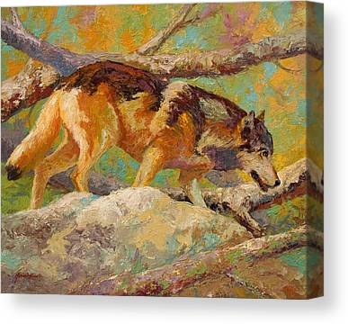 Prowler Paintings Canvas Prints