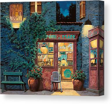Restaurant Cafe Canvas Prints
