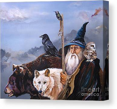 Wizard Canvas Prints