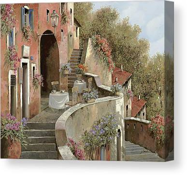Old Wall Paintings Canvas Prints