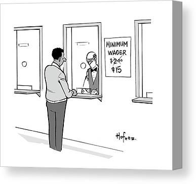 Minimum Wage Canvas Prints