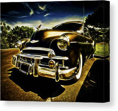 Chev Deluxe Auto Canvas Prints