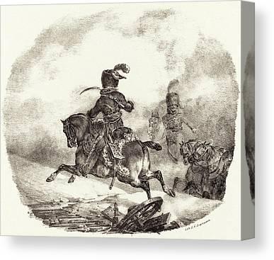 Garde Imperiale Canvas Prints