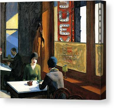 Chinese Restaurant Canvas Prints
