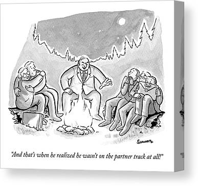 Ghost Story Drawings Canvas Prints