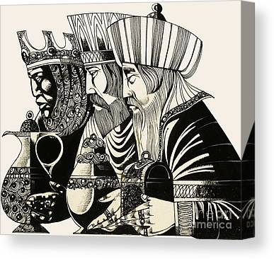 Three Kings Canvas Prints