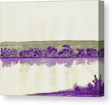 Fort Collins Drawings Canvas Prints