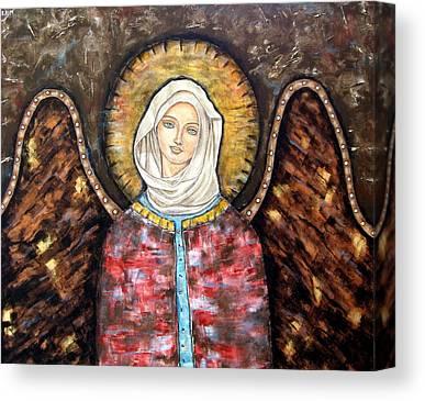 Christian . Devotional Paintings Canvas Prints