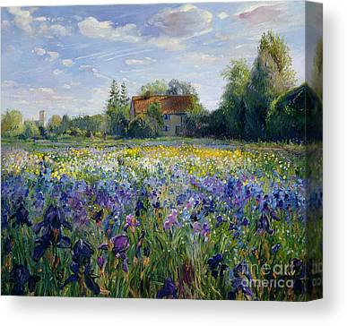 Gardening Canvas Prints