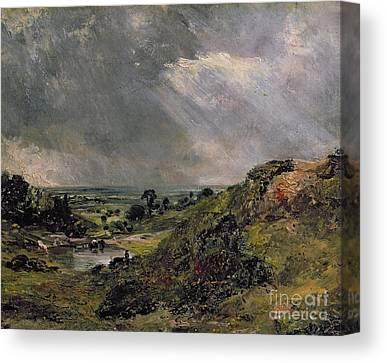 Branch Hill Pond Canvas Prints
