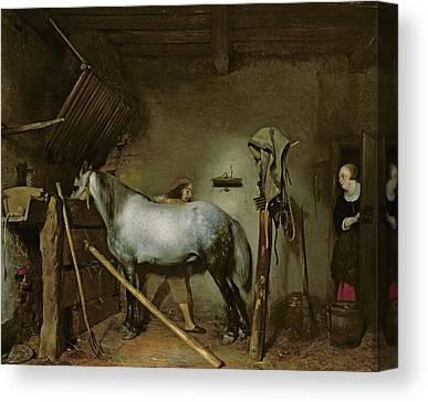 Gerard Terborch Canvas Prints