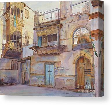 Souq Canvas Prints