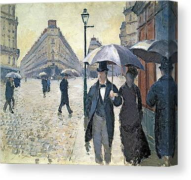 Rain Hat Canvas Prints