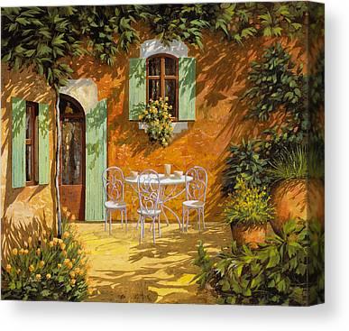 Patio Canvas Prints