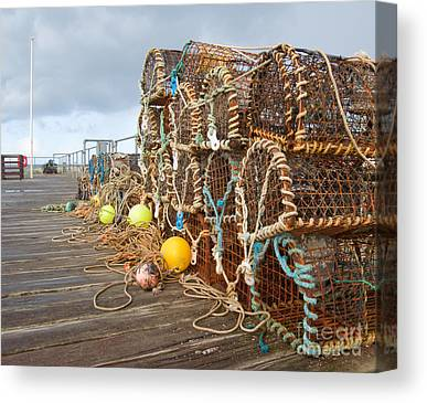 Fishing Industry Canvas Prints