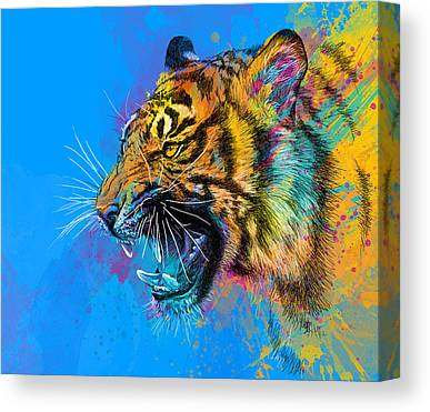 Colorful Digital Art Canvas Prints
