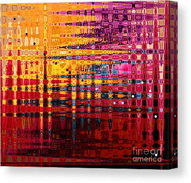 Pixel Stretching Canvas Prints