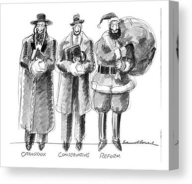 Orthodox Drawings Canvas Prints