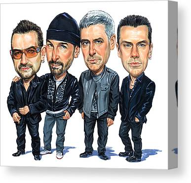 Larry Mullen Jr Canvas Prints