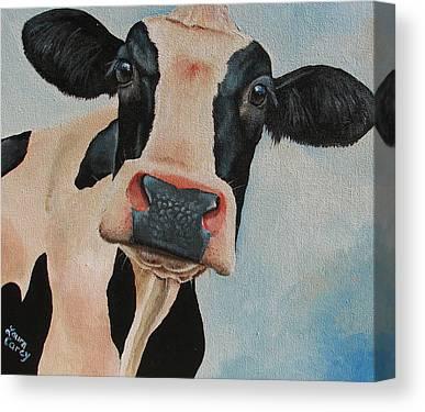 Holstein Canvas Prints