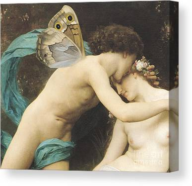 Sexual Lovers Canvas Prints