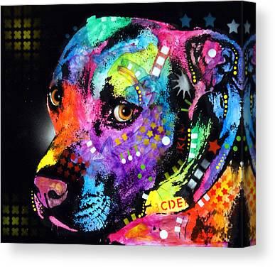 Pitty Mixed Media Canvas Prints