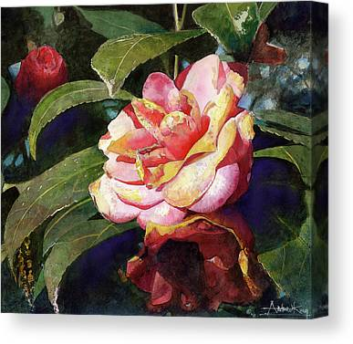 Camellia Canvas Prints