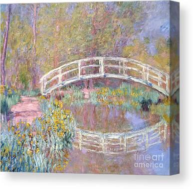 Wood Bridges Canvas Prints
