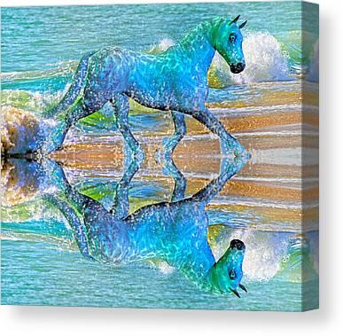 Visual Mixed Media Canvas Prints