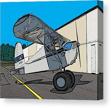Aviation Caricatures Canvas Prints