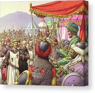 Saladin Canvas Prints