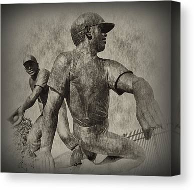 Pennsylvania Baseball Parks Digital Art Canvas Prints