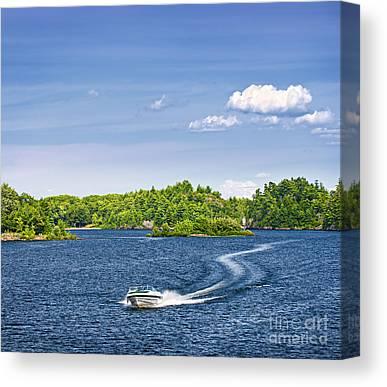 Pleasure Driving Canvas Prints