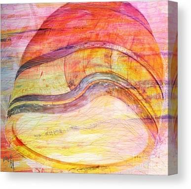 Bumped Wine Barrel Canvas Prints