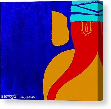 Ganesh Chaturthi Canvas Prints