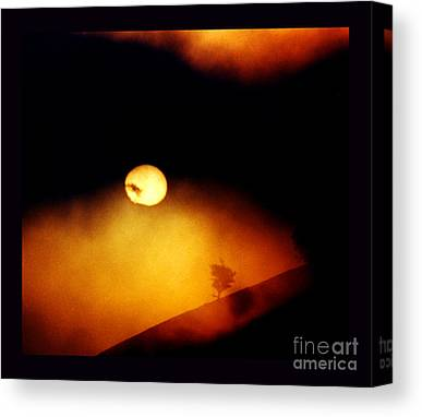 Sun Without Rays Canvas Prints