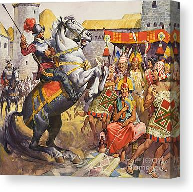Spanish Fort Canvas Prints
