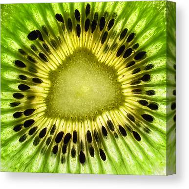 Kiwi Canvas Prints