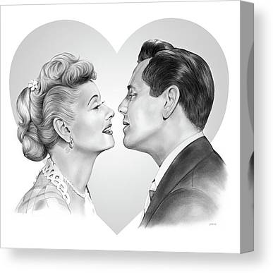 I Love Lucy Canvas Prints